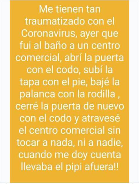 Temor con humor se paga, grita el planeta al coronavirus