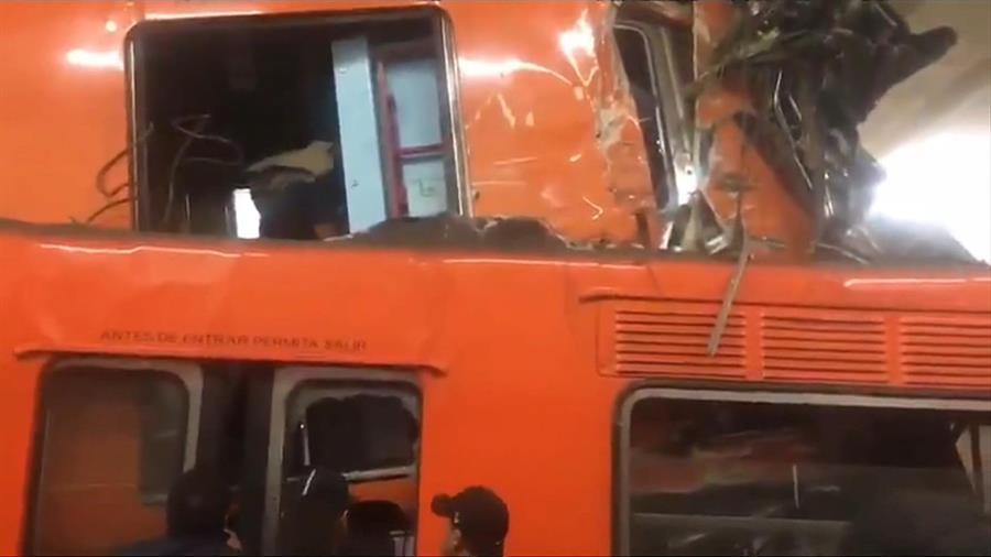 Choque de trenes dejó un fallecido y 41 heridos en México