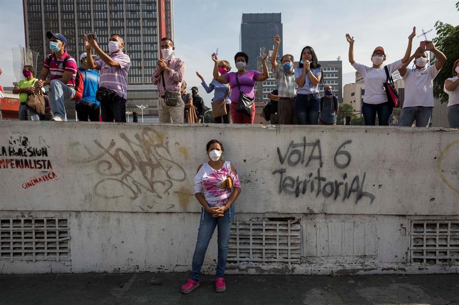 Caracas apela al Nazareno al que rezó contra la peste para frenar el COVID-19