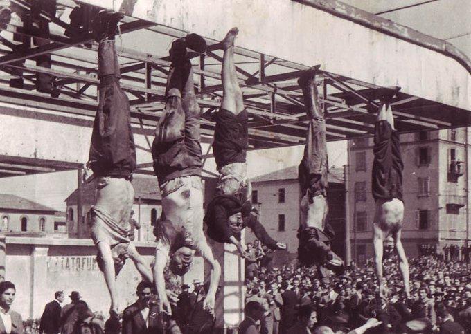 Hace 75 años Mussolini murió a manos de los partisanos