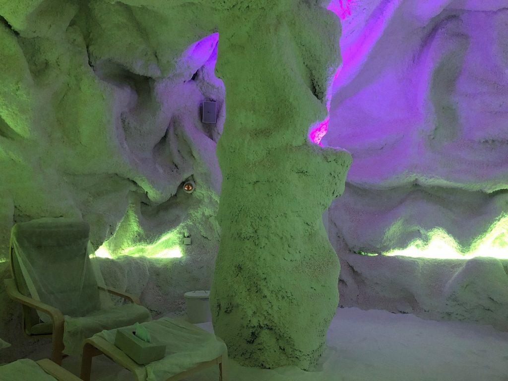 Haloterapia: cuevas de sal benéfica en la ciudad