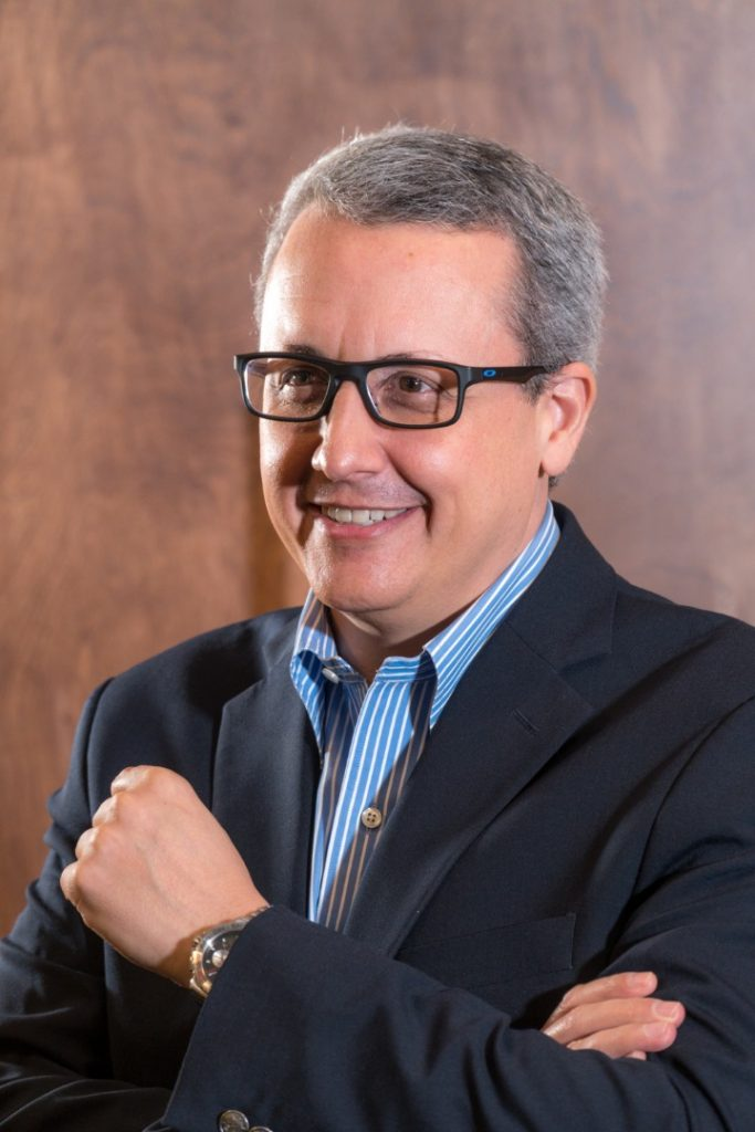 Thony Da Silva, socio-director de Pizzolante