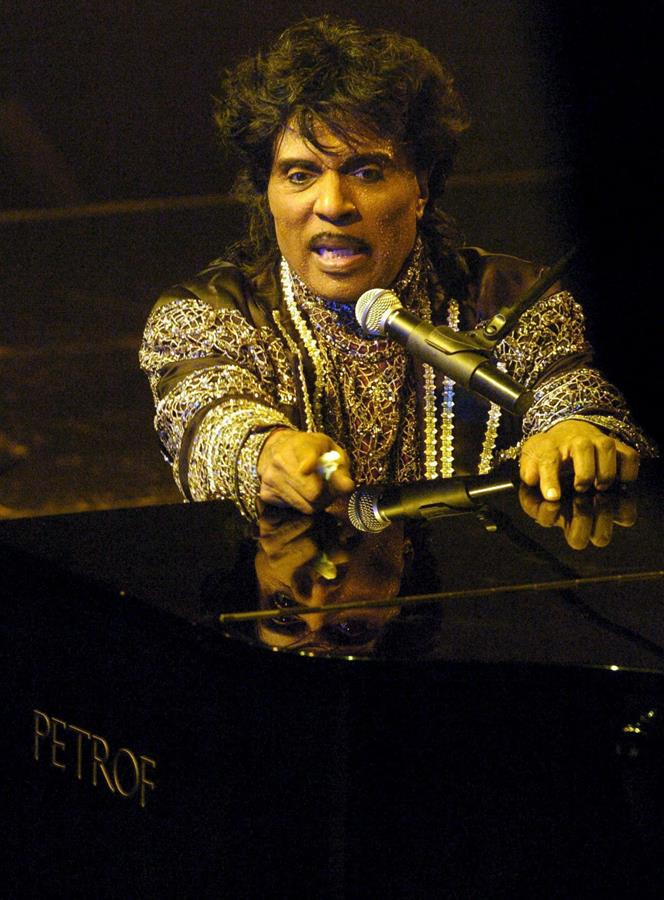 Dolor y admiración por la muerte del genio del rock Little Richard