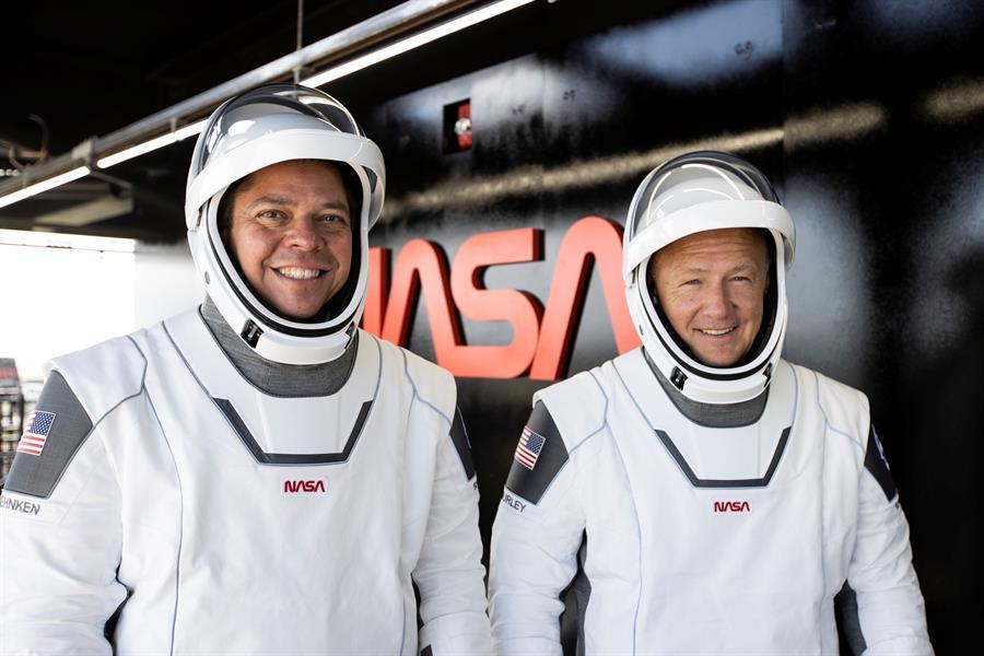 Los astronautas que llegaron a la EEI destacan suavidad del viaje