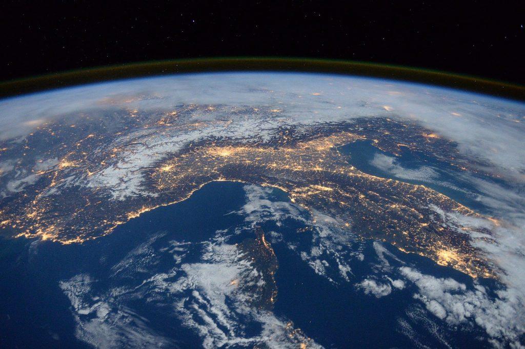 Desde el espacio estudian el impacto del coronavirus