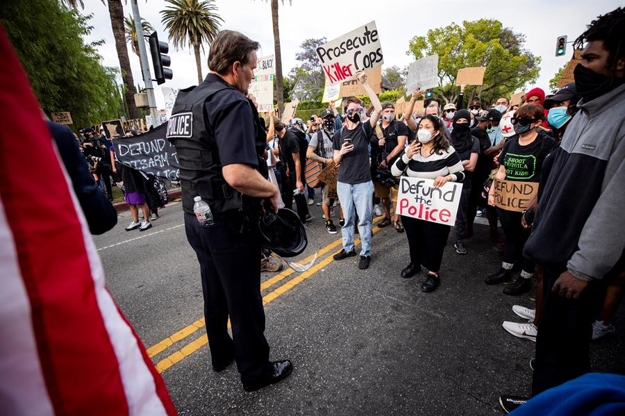 Trump es ahora el foco de atención de las protestas