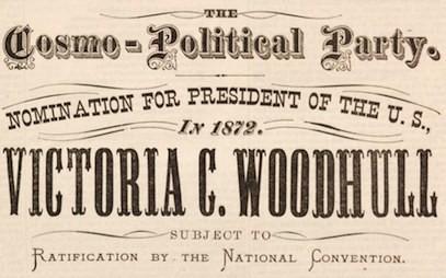 """Victoria Woodhull y sus """"incómodas"""" ideas sexuales y políticas"""