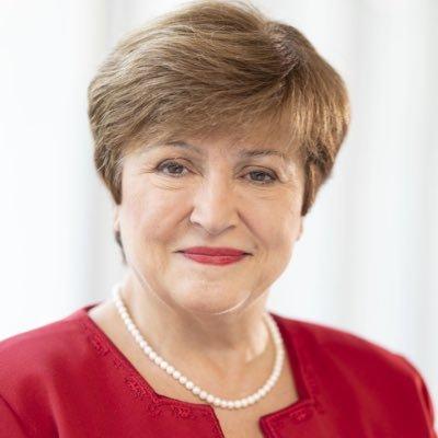 Kristalina Georgieva (directora del Fondo Monetario Internacional, FMI)