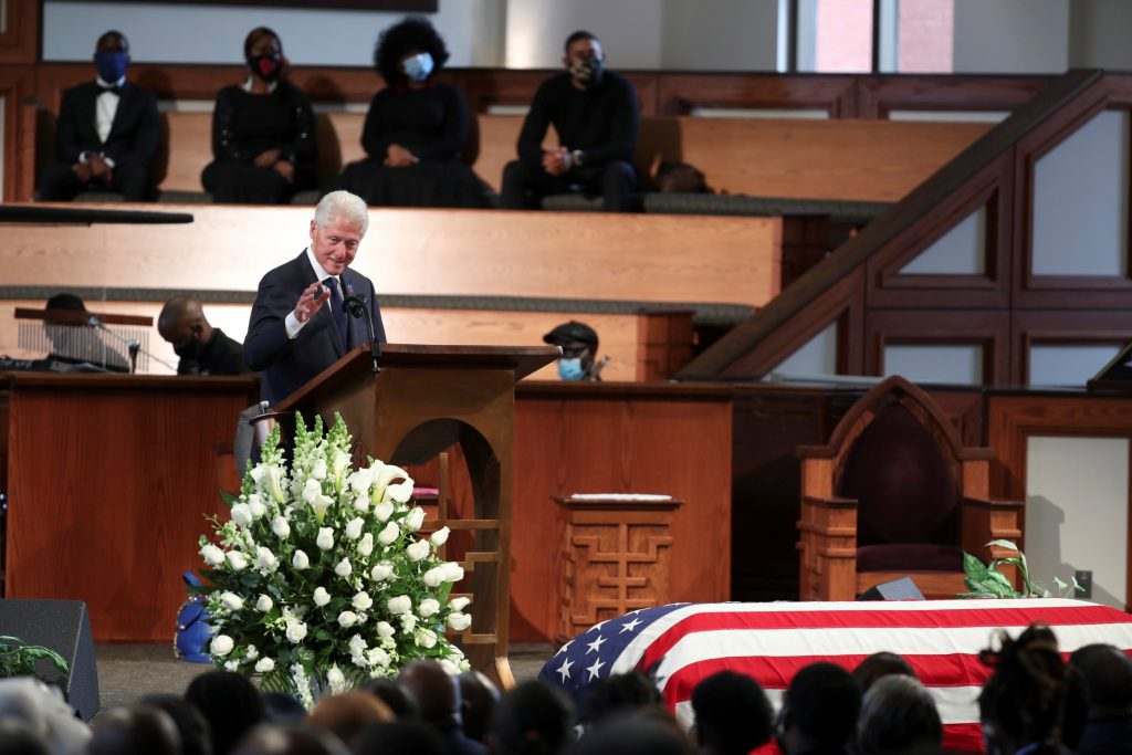 Así fue el funeral del congresista John Lewis