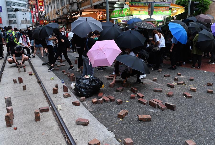 Ley de seguridad en Hong Kong se estrena con protestas y arrestos