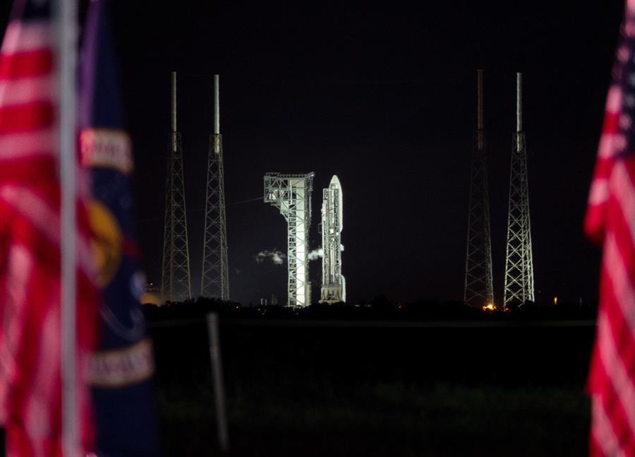 El Atlas en Complejo de Lanzamiento Espacial 41 en Cabo Cañaveral