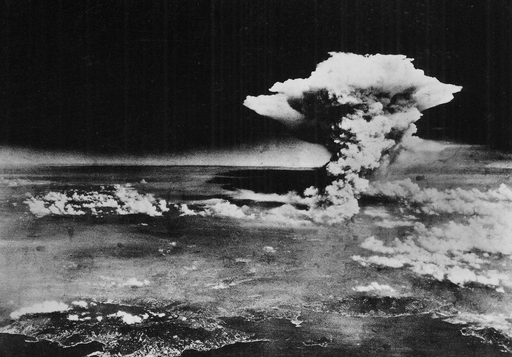 """la primera bomba nuclear utilizada en combate real y bautizada como """"Little Boy"""""""