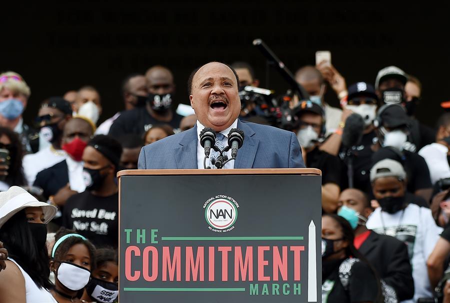 ¿Iremos al caos o a la comunidad?, preguntó Martin Luther King III