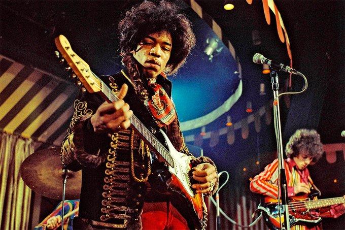 A 50 años de su muerte, Jimi Hendrix suena como nadie