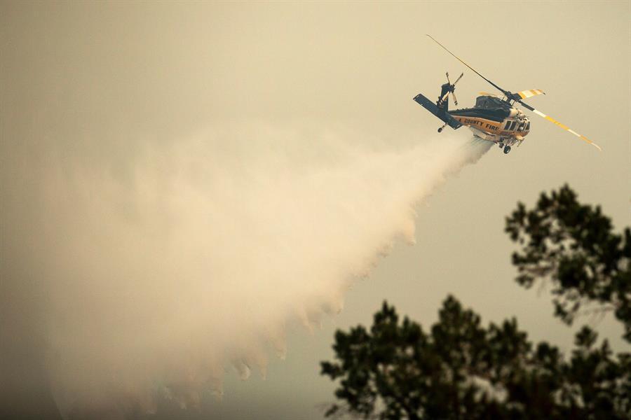 1,2 millones de hectáreas, casi el equivalente a Puerto Rico, arrasados por incendios de California