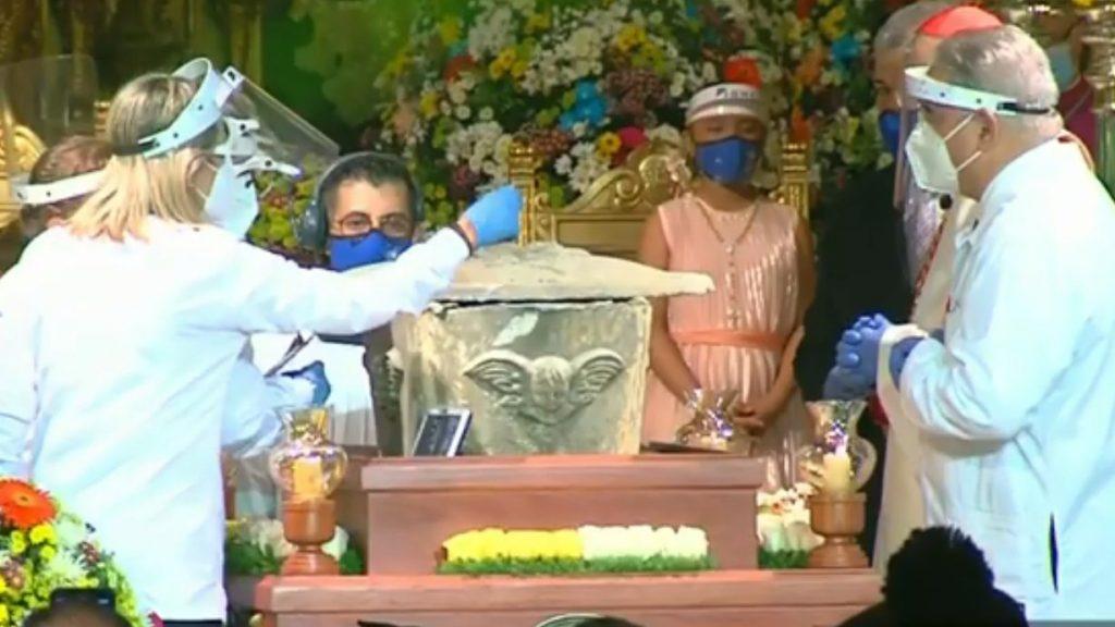 Así fue la exhumación de los restos de José Gregorio Hernández