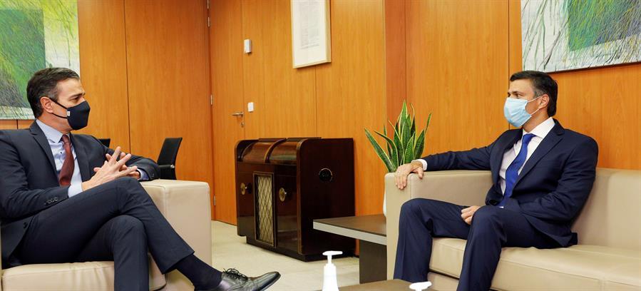 Pedro Sáncez se reunión con Leopoldo López