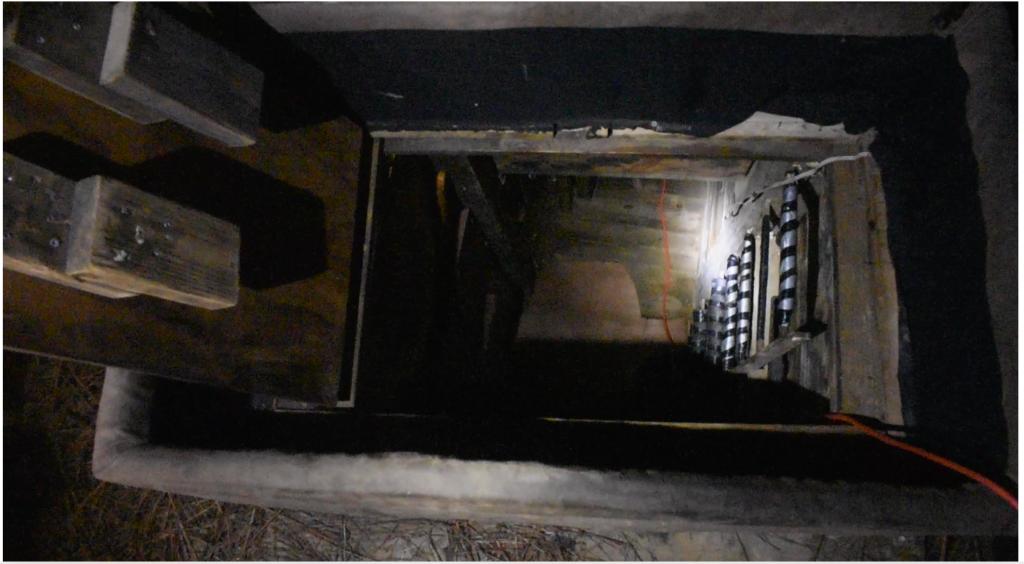 la Policía descubrió la existencia de un bunker