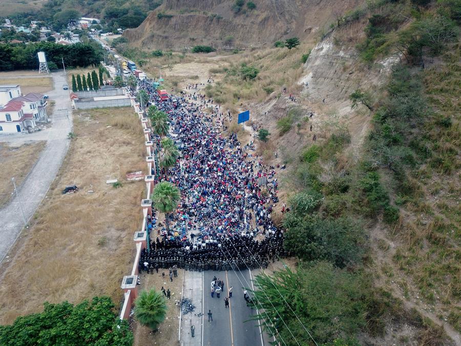 Casi 1.400 migrantes hondureños fueron obligados a regresar a su país