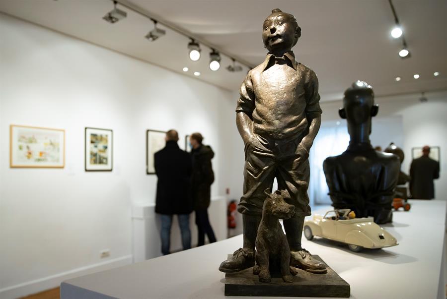 ¿Impondrá nuevo récord? Tintín participará en una nueva subasta en París