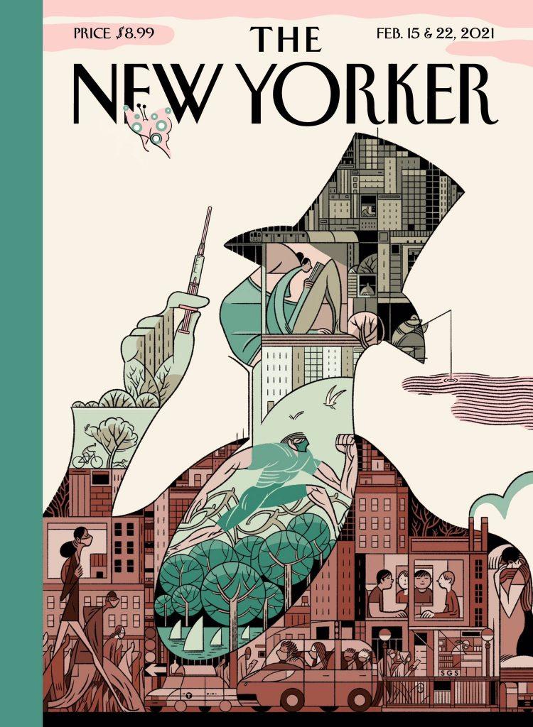 """""""Todos los grandes han publicado ahí"""": el español Sergio García diseñó la portada del New Yorker"""