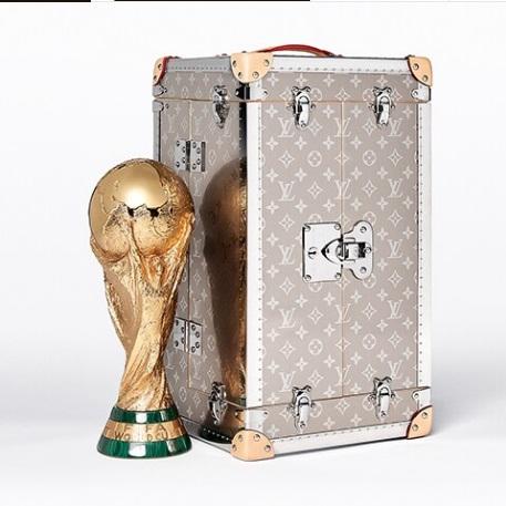 En Brasil 2014, Louis Vuitton ratificó sus vínculos con el fútbol